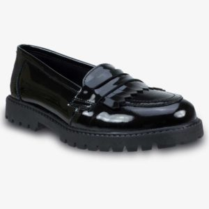 WILLOW - Patent Black Shoes (Girls), Girls Shoes